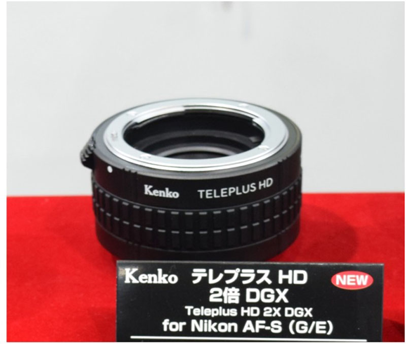 Other interesting new items followed alongside. Kenko Teleplus series is enriched with the so much-anticipated Kenko TELEPLUS HD 2x DGX for Nikon AF-S (G/E)..