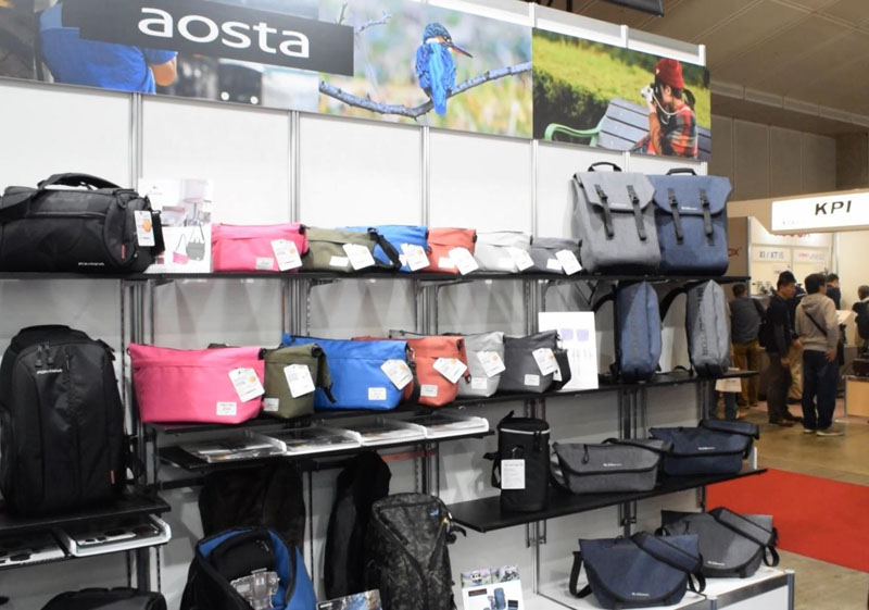 Also, AOSTA bags filled numerous shelves.