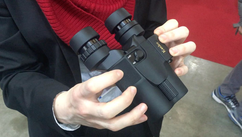 Speaking of innovation, have a look at the lightest and most compact pairs of binoculars in the world with image stabilization..
